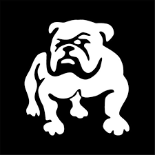 2pcs Dog Puppy Bulldog Pet Stickers Car Styling Wall Window Vinyl Decal Black For Sale Online Ebay