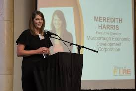 """Meredith Harris recognized with """"Women of FIRE"""" award ..."""