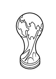 Kids N Fun Kleurplaat Voetbal Fifa World Cup