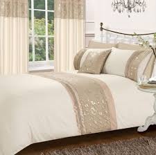 bedding cream gold stylish fl