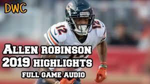 Allen Robinson FULL 2019 Highlights W ...
