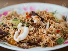 Thai Instant Noodle Spicy Seafood Salad ...