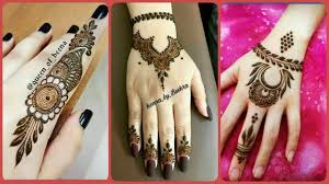 cute unique simple mehndi design 2019