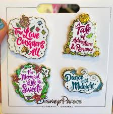 princess quotes disney pin set disney pins blog
