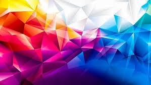colors colorful 3d geometric