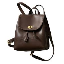 leather backpack purse for women it bag