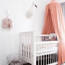 Baby Crib Net Bed Curtain Canopy Children Room Decor Kids Tent Cotton Hung Dome Mosquito Net For Baby Sleeping Photography Props Buy At The Price Of 9 07 In Aliexpress Com Imall Com