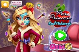 pure princess real makeover make up