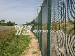It Is Kinds Of High Security Fence Also Called 358 Anti Climb Welded Mesh Fence Security Fence Metal Garden Fencing Mesh Fencing