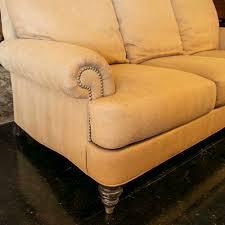 ethan allen hyde sofa in gold herringbone