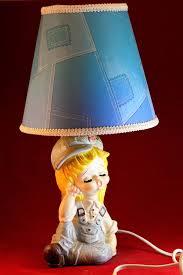 Cute Nursery Lamp Cute Kids Lamp Boy Girl Lamp Old Etsy