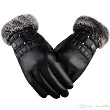 winter warm leather gloves motorcycle
