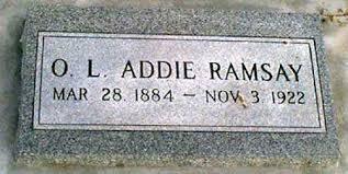 RAMSAY, OLLIE LURA (ADDIE) - Baker County, Oregon | OLLIE LURA ...