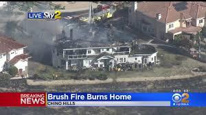 Brush Fire Burns Chino Hills Home - One ...