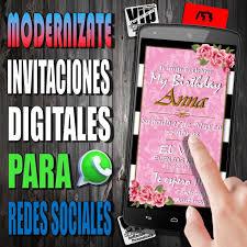 Invitacion Digital 153 Boda Mis 15 Cumple 30 40 Anos