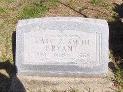 Mary Zelma Smith Bryant (1897-1968) - Find A Grave Memorial