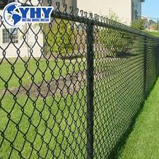 Green Vinyl Coated Black Vinyl Coated No Climb Wire Chain Link Fence With Barbed Wire On Top Buy Vinyl Coated Chain Link Fence Black Chain Link Fence Barbed Wire No Climb Wire Fence Product On Alibaba Com