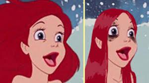 if disney princesses wore realistic