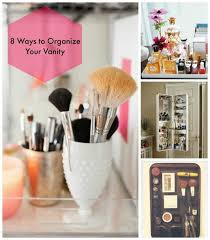 8 tricks to organize your makeup vanity