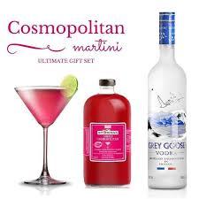 send grey goose cosmopolitan gift set