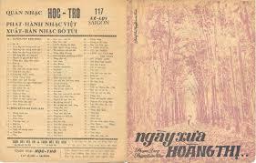 Ngày Xưa Hoàng Thị (Phạm Duy – Phạm Thiên Thư) | Dòng Nhạc Xưa