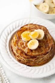 banana egg oat pancakes meaningful eats