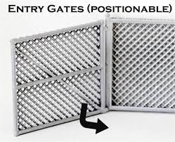 Ho Scale Detail Chain Link Fence Gates