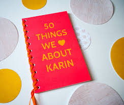 50 things we love about you book 50th