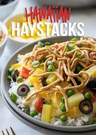quick easy hawaiian haystacks i wash