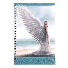 spirit guide journal angel fantasy art