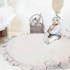 Super Deal 1687 Round Baby Play Mats Cotton Child Carpet For Living Room Soft Sleeping Children S Rug Kids Play Rugs Floor Newborn Gym Playmat Cicig Co