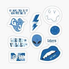 Gvsu Stickers Redbubble