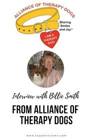 Interview with Billie Smith from Alliance of Therapy Dogs ...