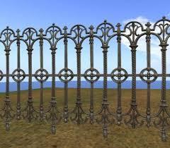 Gothic Iron Fence Gothic Fence Decorative Iron Railing With Gothic Iron Fence Texture Medieval Castle Railing Zaun Iron Railing Iron Fence Wrought Iron Fences