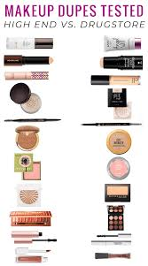 makeup dupes tested a full