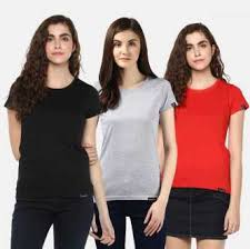 Women T-Shirts - Buy Polos & T-Shirts for Women Online at Best ...