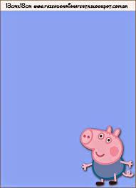 George Pig Invitaciones Para Imprimir Gratis Invitaciones Para