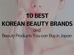 korean makeup and skincare brands