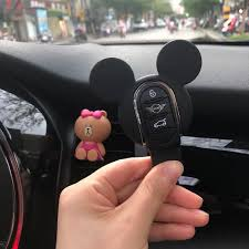Mini Cooper Mickey Minnie Mouse Inspired Key Fob Cover Case Protector Carsoda