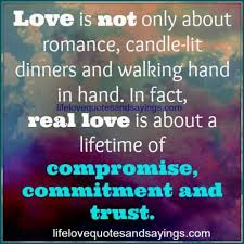love is not only about r ce candle lit dinners and walking