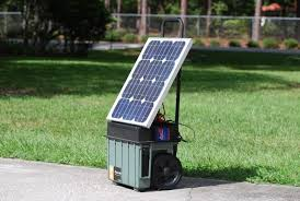 portable solar powered generators an