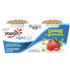 yogurt granola strawberry 2 ct 12 oz