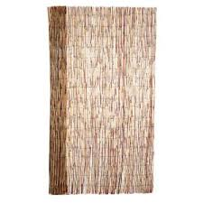 Backyard X Scapes 6 Ft H X 16 Ft L Bamboo Coffee Peeled Reed Fencing 20 C6 The Home Depot
