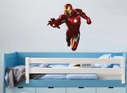 Ironman Wall Art Sticker 5 X Great Sizes Great Decal For Any Room Ebay