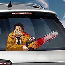 1pcs Chainsaw Massacre Waving Wiper Decal Sticker Oem Pvc Car Styling Rear Window Wiper Stickers Rear Windshield Stickers Decals Car Stickers Aliexpress