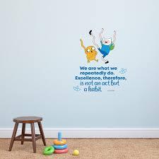 Design With Vinyl Adventure Time Excellence Vinyl Wall Decal Wayfair