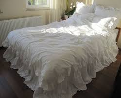 lace bed skirt bedskirt white eyelet