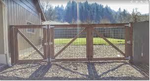 Welded Wire Fence Wood Frame Woodsinfo