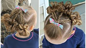 تسريحات شعر للاطفال سهلة بالخطوات