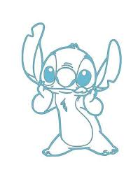 Disney S Stitch Holding Face W Tongue Out Vinyl Decal For Car Home Ftw Custom Vinyl